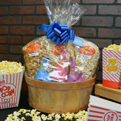 Large Gift Popcorn Basket