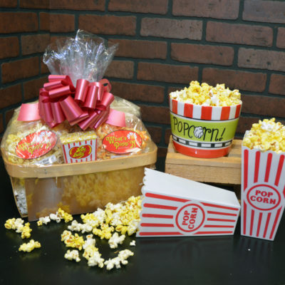 Berry Popcorn Basket