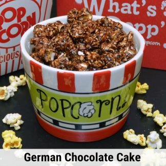 German Chocolate Cake popcorn
