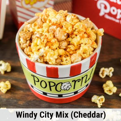 Windy City Mix-Cheddar popcorn
