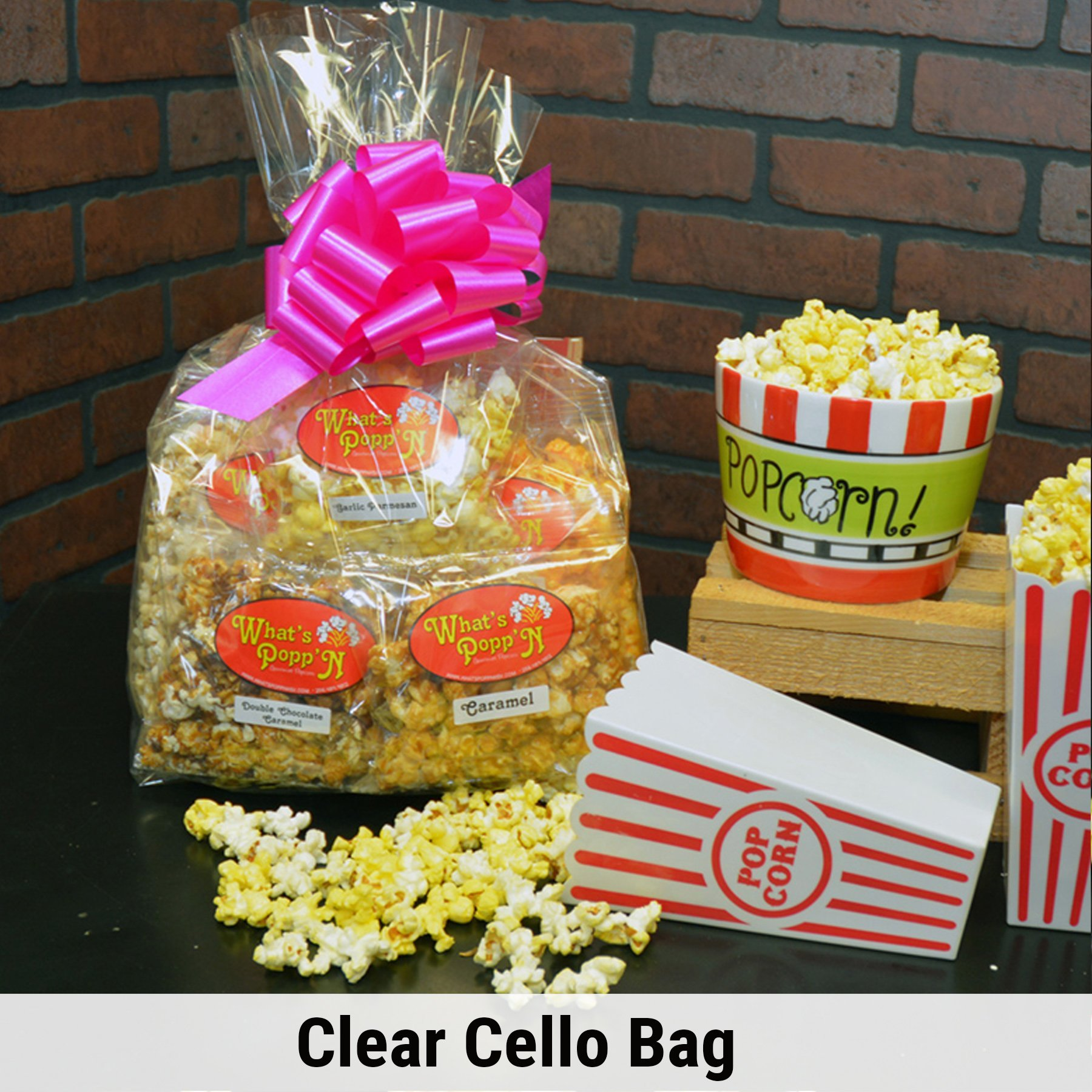 clear cello bag for page 2